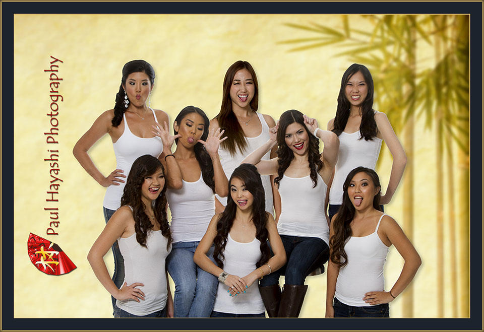 2015 Miss Chinatown Hawaii Contestants