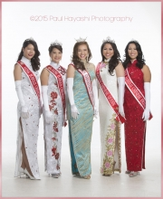 2016 Miss Chinatown Hawaii/Miss Hawaii Chinese Court ©2015 Paul Hayashi Photography - All Rights Reserved