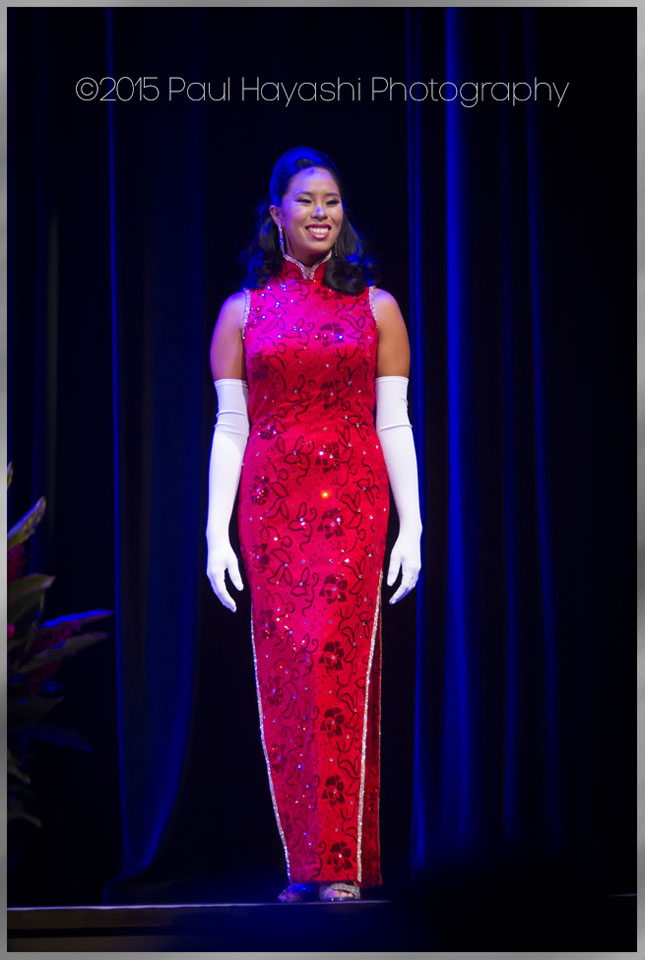 Sonya Ling - Cheongsam Phase - 2016 Miss Chinatown Hawaii/Miss Hawaii Chinese Scholarship Pageant - ©2015 Paul Hayashi Photography - All Rights Reserved