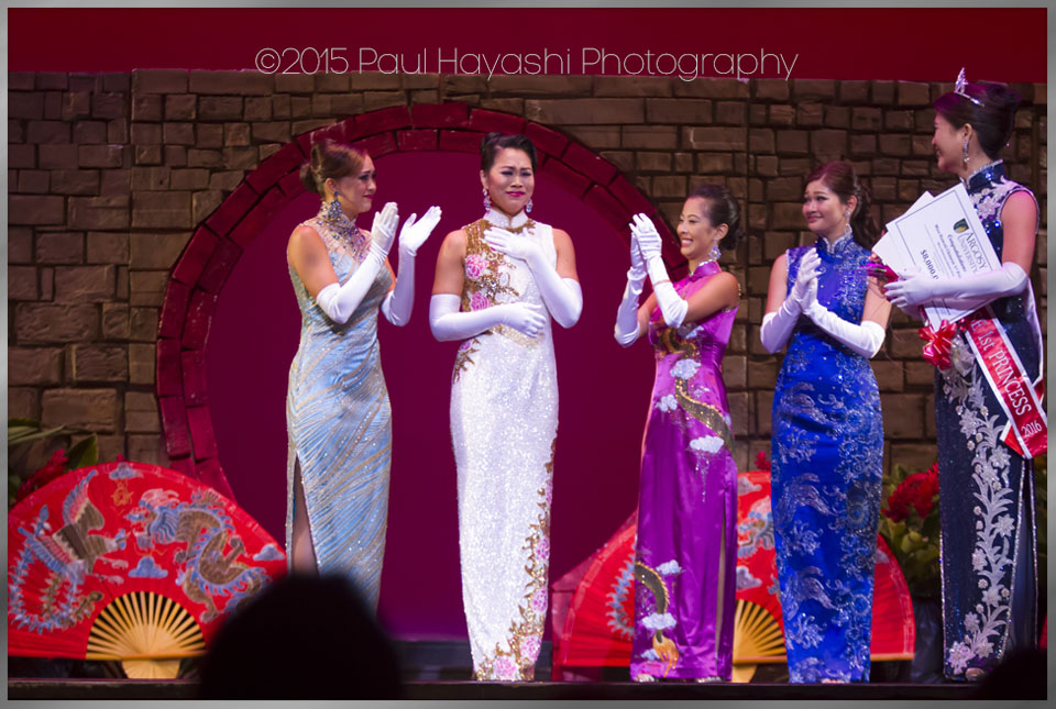 Michelle Hee - 2016 Miss Hawaii Chinese - Awards & Titles - 2016 Miss Chinatown Hawaii/Miss Hawaii Chinese Scholarship Pageant - ©2015 Paul Hayashi Photography - All Rights Reserved