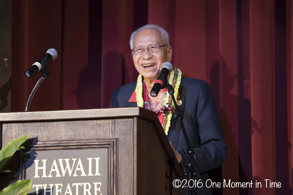 Mayor of Chinatownm Dr, Joseph Young - Miss Chinatown Hawaii/Miss Hawaii Chinese Scholarship Pageant - ©2017 One Moment in Time Photography
