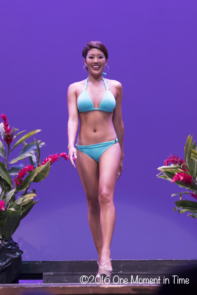 Swimsuit Stephanie Wang - Miss Chinatown Hawaii/Miss Hawaii Chinese Scholarship Pageant - ©2017 One Moment in Time Photography