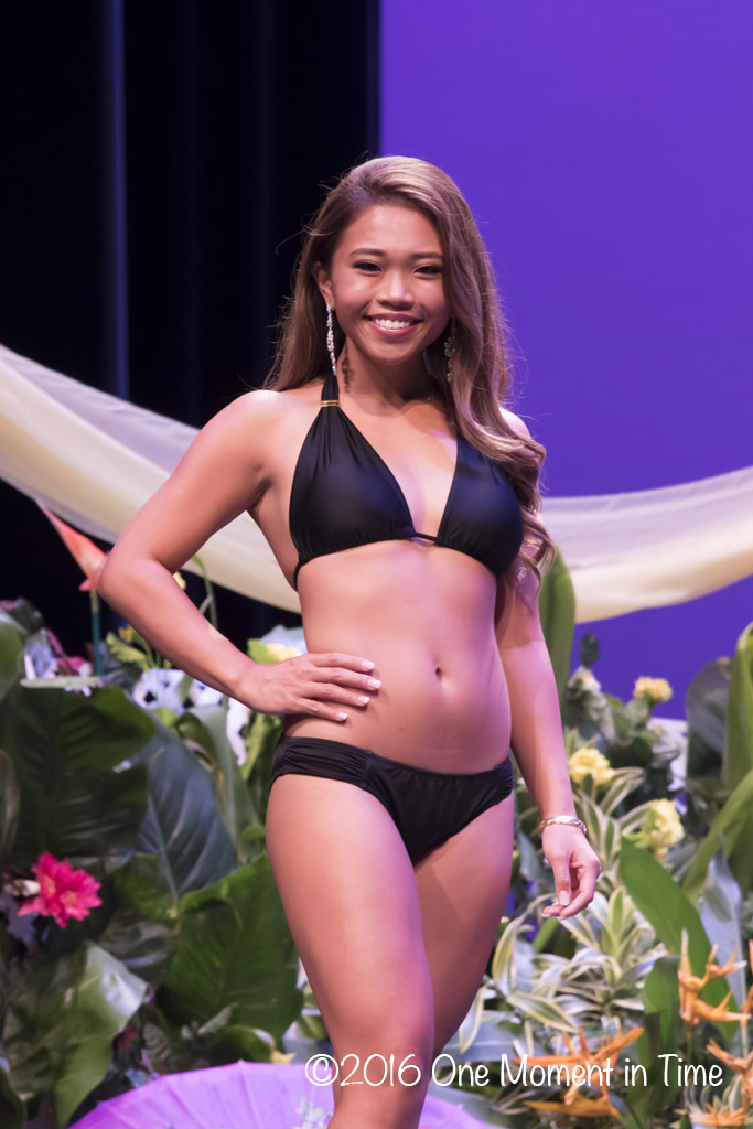 Swimsuit - Michelle Dang - Miss Chinatown Hawaii/Miss Hawaii Chinese Scholarship Pageant - ©2017 One Moment in Time Photography