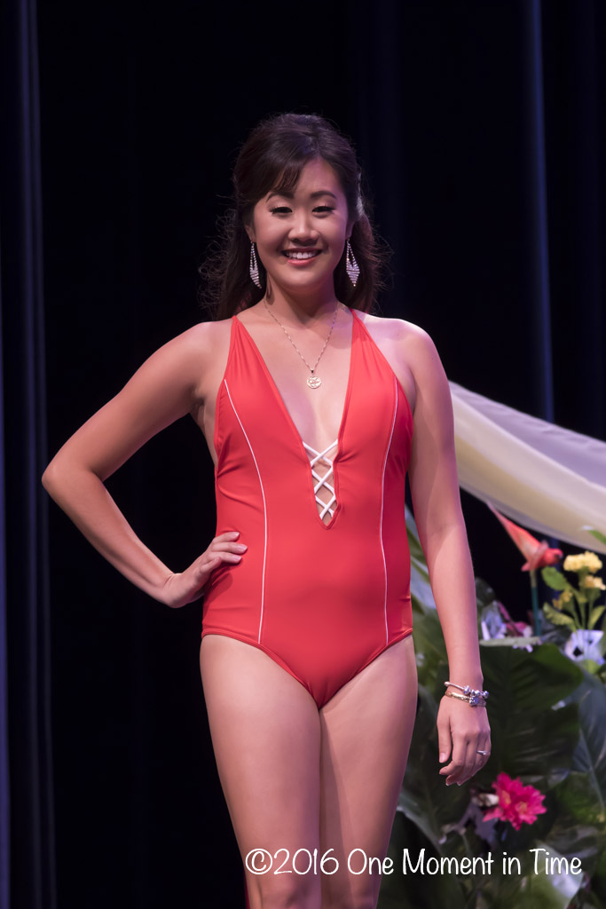 Swimsuit - Nikky Ansai - Miss Chinatown Hawaii/Miss Hawaii Chinese Scholarship Pageant - ©2017 One Moment in Time Photography