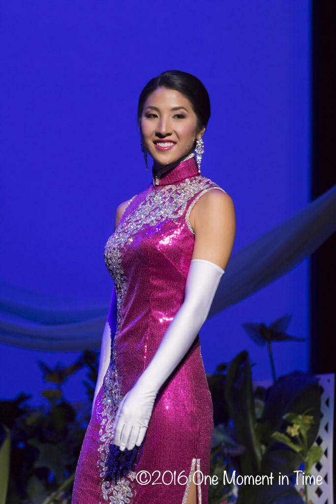 Cheongsam - Chelsie Mow - Miss Chinatown Hawaii/Miss Hawaii Chinese Scholarship Pageant - ©2017 One Moment in Time Photography