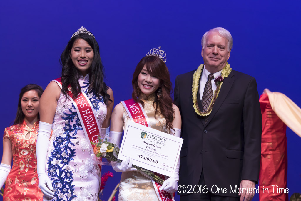 Miss Hawaii Chinese Princess Melody Kaohu - Miss Chinatown Hawaii/Miss Hawaii Chinese Scholarship Pageant - ©2017 One Moment in Time Photography