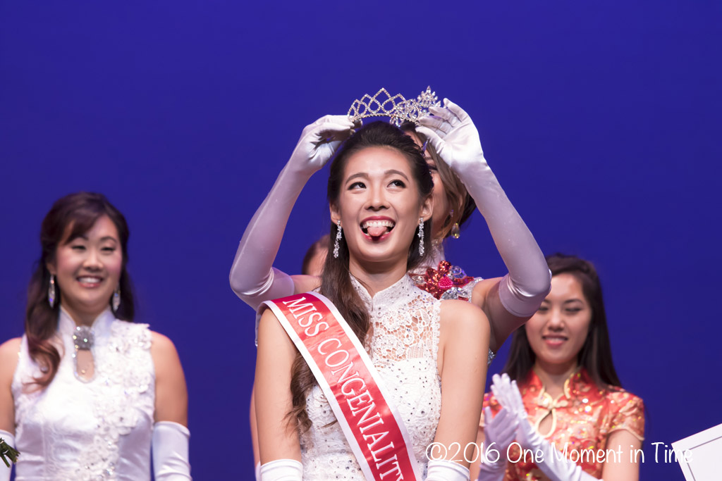 Miss Congeniality Crystal Yang - Miss Chinatown Hawaii/Miss Hawaii Chinese Scholarship Pageant - ©2017 One Moment in Time Photography