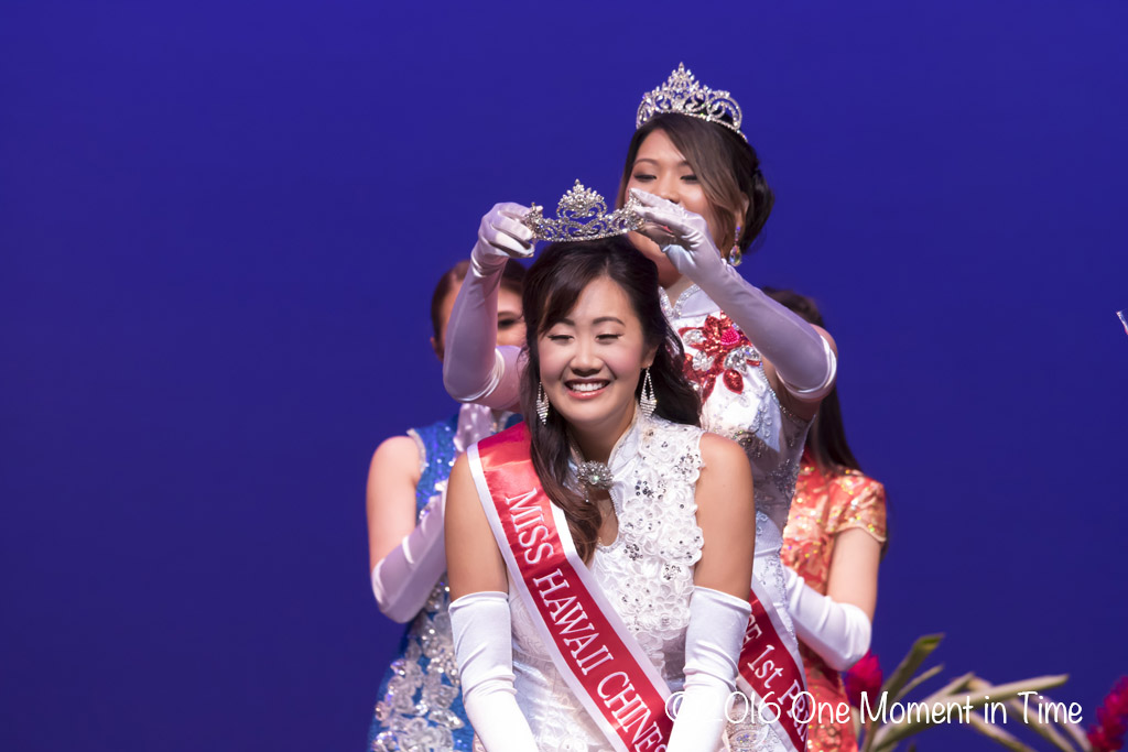 Miss Hawaii Chinese 1st Princess Nikky Ansai - Miss Chinatown Hawaii/Miss Hawaii Chinese Scholarship Pageant - ©2017 One Moment in Time Photography
