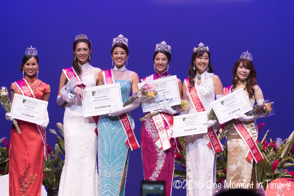 2017 Queens & Princesses - Miss Chinatown Hawaii/Miss Hawaii Chinese Scholarship Pageant - ©2017 One Moment in Time Photography