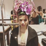 Coronation Ball Fashion Show Headress
