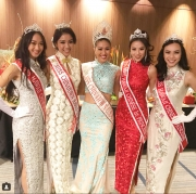 Our 2018 court with former Miss Chinatown USA, Darah Dung! We are so happy to be reunited with you!