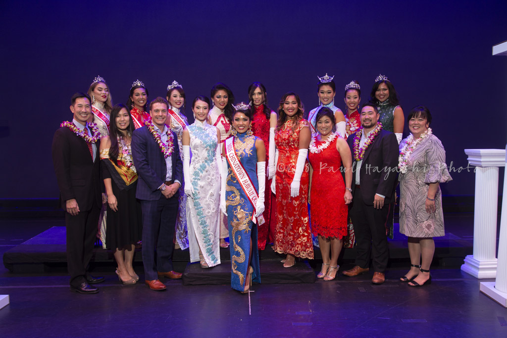 MCH 2019 Contestants w/Pageant Judges