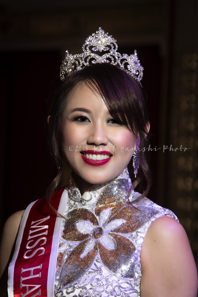 2018 Miss Hawaii Chinese Ivonne Lee