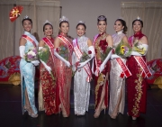 Leeonda Lee Princess, Maka`ala Perry 1st RU, Jocelyn Louie - Miss Hawaii Chinese, Courtney Choy- Miss Chinatown Hawaii, Anna Davide - Miss Chinese Jaycees, Ashley Benn - Princess/Miss Photogenic/Miss Popularity, Tracy Wong - Miss Congeniality