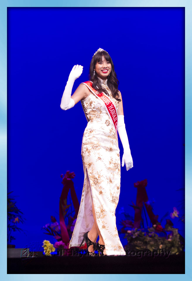 2014 Miss Chinatown Hawaii Princess Tracey Wong