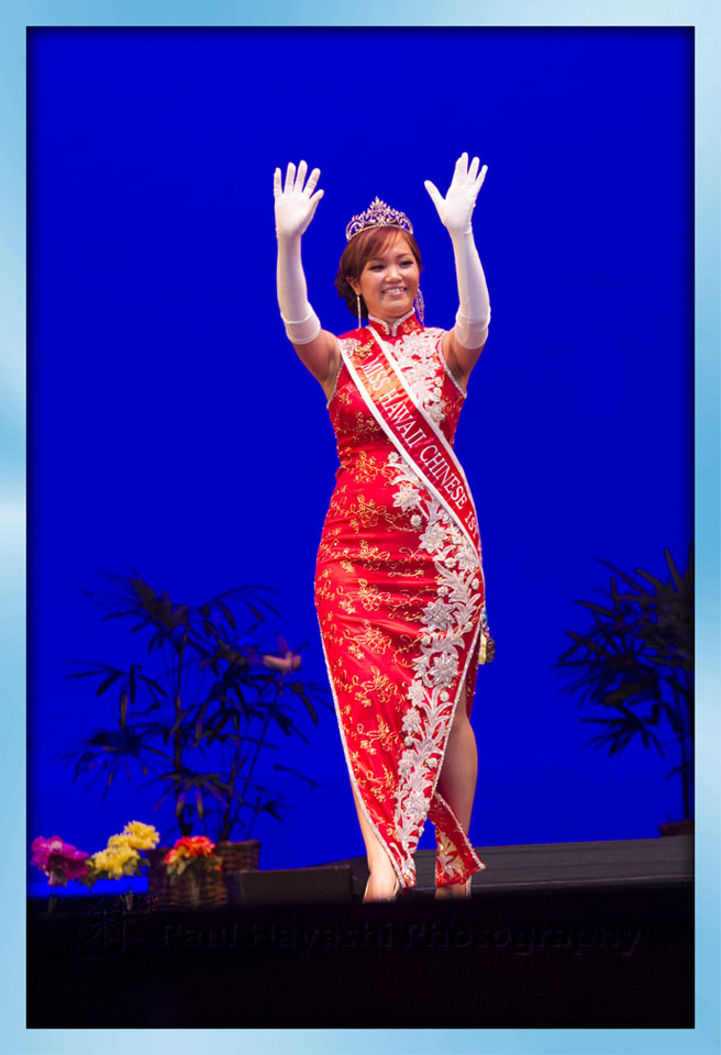 2014 Miss Hawaii Chinese 1st Princess Tracey Zhang