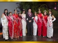 Arogosy President Dr. Warren Eveans with 2014 & 2015 Courts