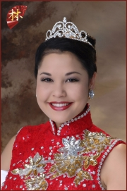 2001 Miss Chinatown Hawaii 1st Princess - Chariya Tseu
