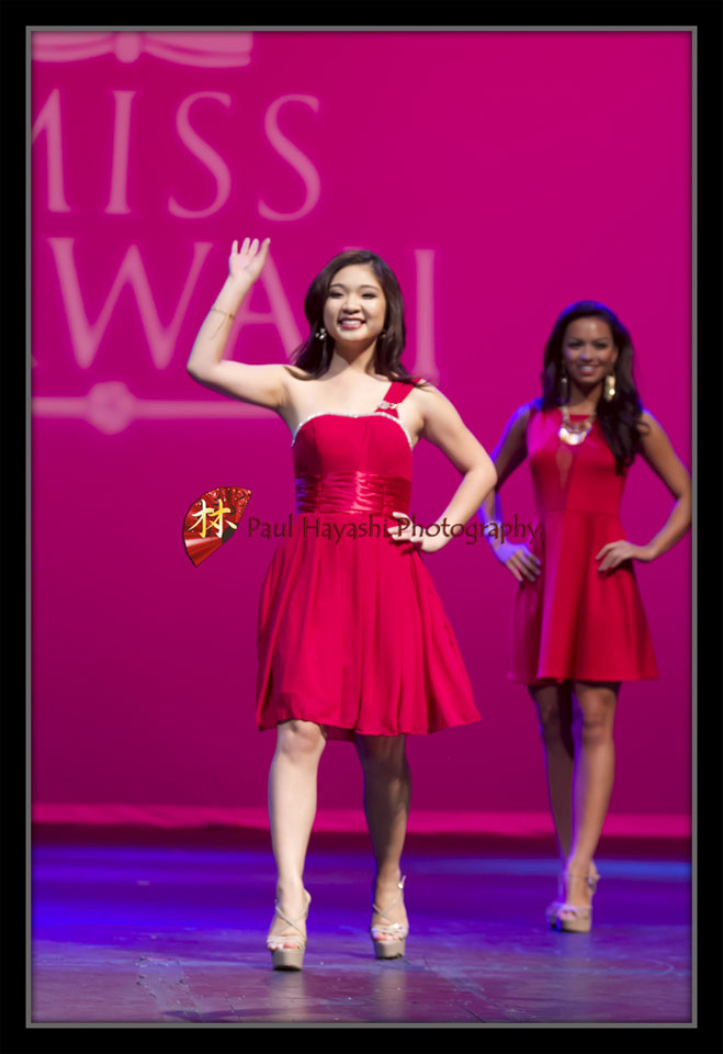 2014 Miss Hawaii Preliminary - Opening Number