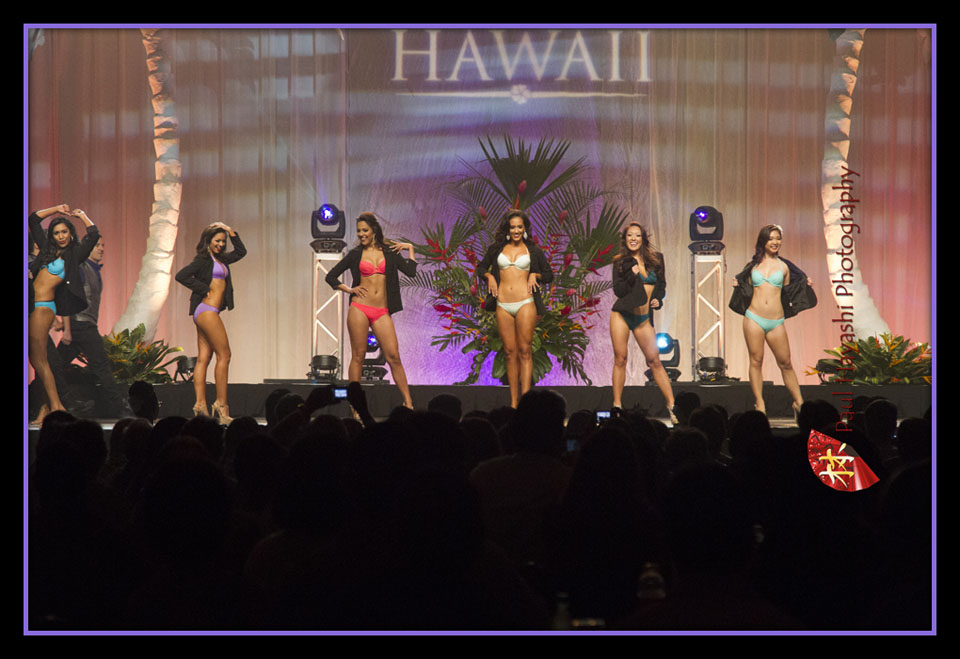 2014 Miss Hawaii Pageant - Swimsuit Competition